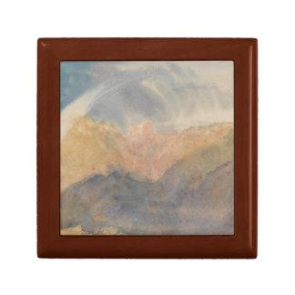 Joseph Mallord William Turner - Crichton Castle Small Square Gift Box