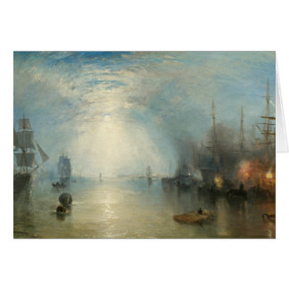 Joseph Mallord William Turner - Keelmen Heaving Card