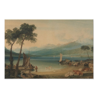 Joseph Mallord William Turner - Lake Geneva Poster