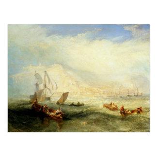 Joseph Mallord William Turner - Line Fishing, Off Postcard