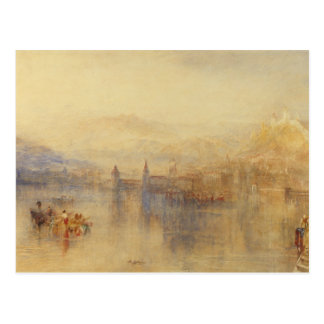 Joseph Mallord William Turner - Lucerne from the Postcard