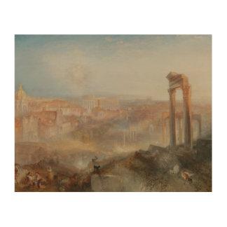 Joseph Mallord William Turner - Modern Rome Wood Prints