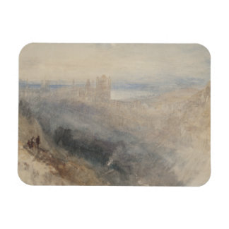 Joseph Mallord William Turner - Moon over Lausanne Rectangular Photo Magnet