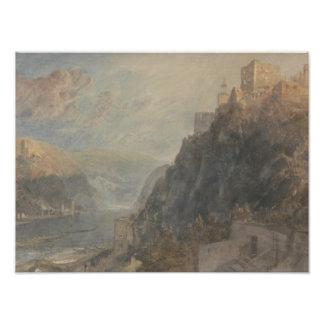 Joseph Mallord William Turner - Rheinfels Looking Photograph