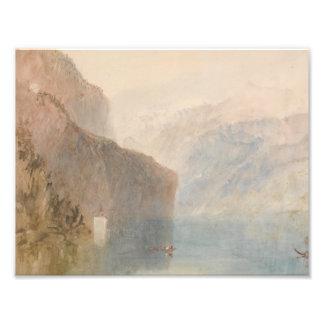 Joseph Mallord William Turner - Tell's Chapel Photo Print