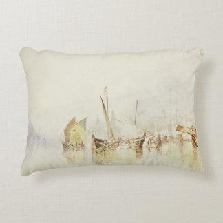 Joseph Mallord William Turner - The Sun of Venice Decorative Cushion