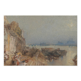 Joseph Mallord William Turner - Tours - Sunset Photo Art