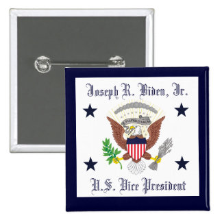 Joseph R. Biden, Jr. 15 Cm Square Badge