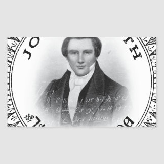 Joseph Smith THE Prophet of God Rectangular Sticker