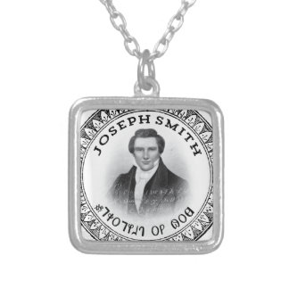 Joseph Smith THE Prophet of God Silver Plated Necklace
