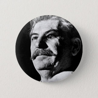 Joseph Stalin 6 Cm Round Badge