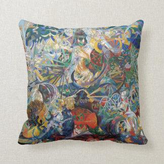 Joseph Stella - Battle of Lights, Coney Island Cushion