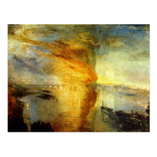 Joseph Turner Art Postcard