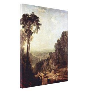 Joseph William Turner - Crossing the Brook Canvas Print