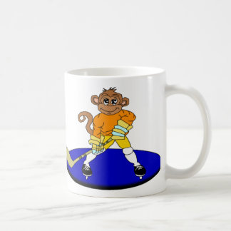 Josh the Ice Hockey Monkey Coffee Mug