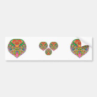JOSHINO Diamond Treasure Bumper Sticker