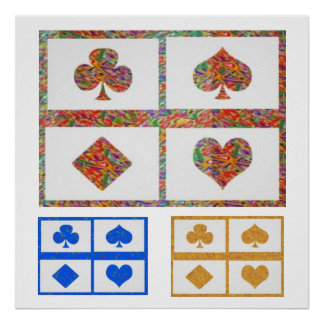 JOSHINO Poker Fans Collections Poster