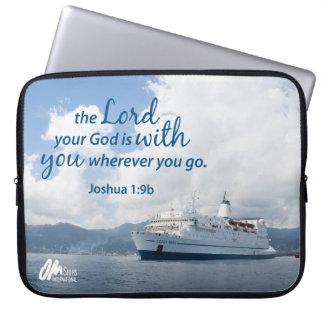 Joshua 1:9 Laptop Sleeve
