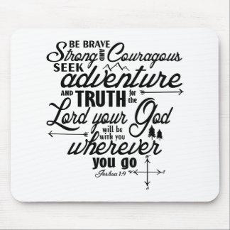 Joshua 1:9 Mouse Pad