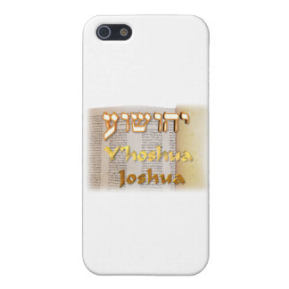 Joshua in Hebrew Case For iPhone 5/5S