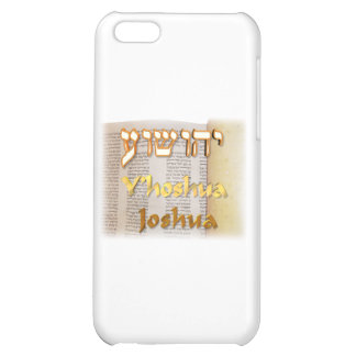 Joshua in Hebrew Case For iPhone 5C