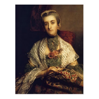 Joshua Reynolds- Caroline, Lady Holland Postcard