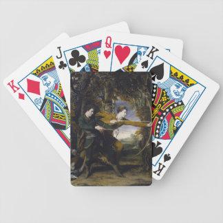 Joshua Reynolds- Colonel Acland and Lord Sydney Card Decks