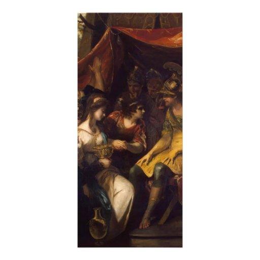 Joshua Reynolds- Continence of Scipio Full Color Rack Card