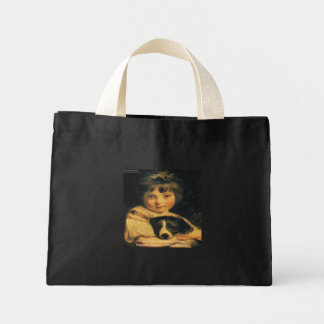Joshua Reynolds Miss Bowles & Quote Gifts & Cards Mini Tote Bag