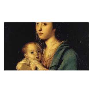 Joshua Reynolds- Mrs. Joseph Martin and her Son Business Cards