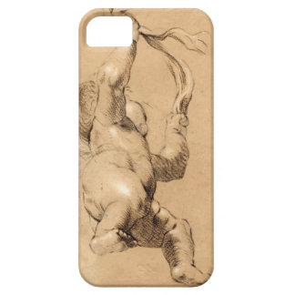 Joshua Reynolds Sketch of Putto Holding a Sash Cover For iPhone 5/5S