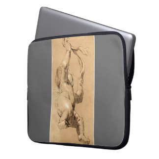 Joshua Reynolds Sketch of Putto Holding a Sash Laptop Computer Sleeve