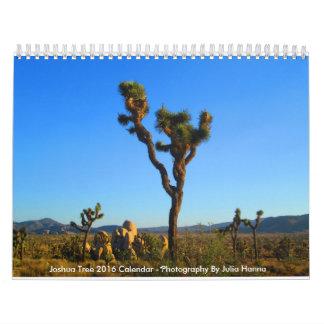 Joshua Tree 2016 By Julia Hanna Calendars