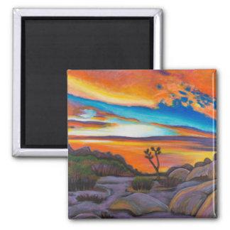 Joshua Tree at Sunset Magnet