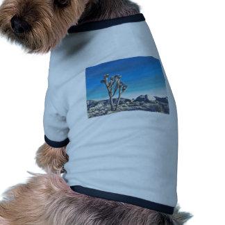 Joshua Tree Drawing Ringer Dog Shirt