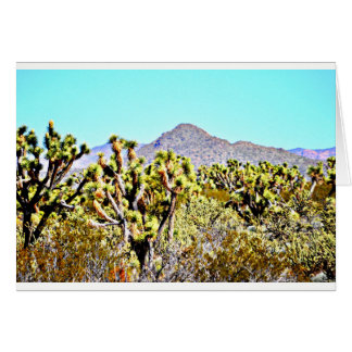 Joshua Tree Forest Note Card