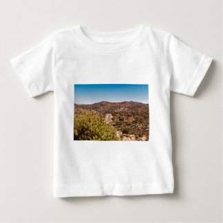 Joshua tree lonely desert road baby T-Shirt