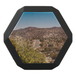 Joshua tree lonely desert road black bluetooth speaker