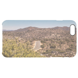 Joshua tree lonely desert road clear iPhone 6 plus case