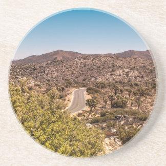 Joshua tree lonely desert road coaster