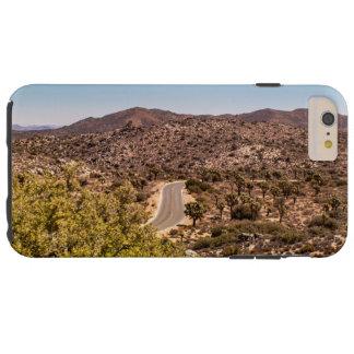 Joshua tree lonely desert road tough iPhone 6 plus case