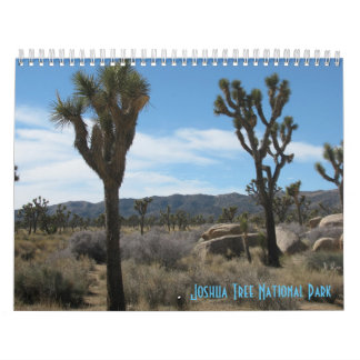 Joshua Tree National Park 2018 Wall Calendar