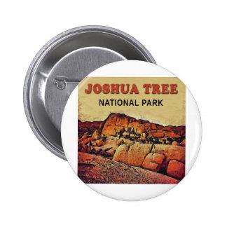 JOSHUA TREE National Park 6 Cm Round Badge