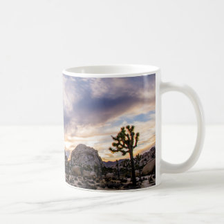 Joshua Tree National Park at Sunset Coffee Mug