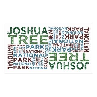 Joshua Tree National Park Business Card Templates