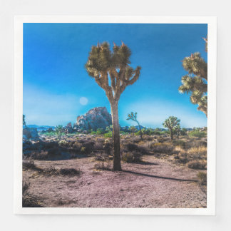 Joshua Tree National Park California Disposable Napkin