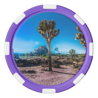 Joshua Tree National Park California Poker Chips