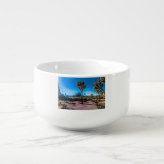 Joshua Tree National Park California Soup Bowl With Handle