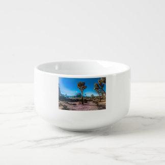 Joshua Tree National Park California Soup Mug
