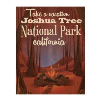 Joshua Tree National Park, California travel Wood Prints